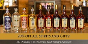 KO Distilling's Spirited Black Friday Celebration @ KO Distilling |  |  |