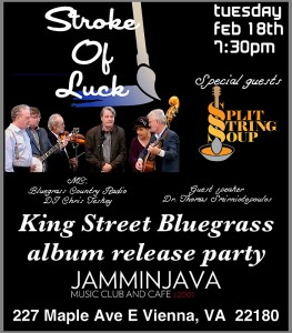 King Street Bluegrass album release @ Jammin Java