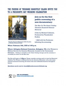 Film Premier: Man on the Island @ Women In Military Service For America Memorial