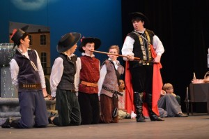 The Three Musketeers @ Thomas Jefferson Community Theatre