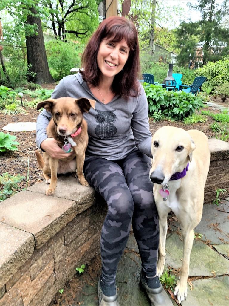 Paula Levin Alcorn W Dogs