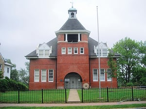 The Hume School. Photo courtesy of the Civic Association