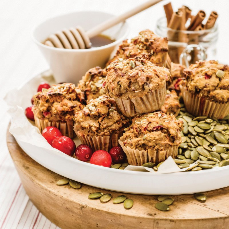Momme Meals' gluten-free cranberry-sweet potato muffins. Photo courtesy of Momme Meals