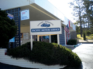 Pacific Motor Service's Pacific Grove location.