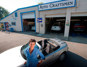 Amy Mattinat, owner, Auto Craftsmen