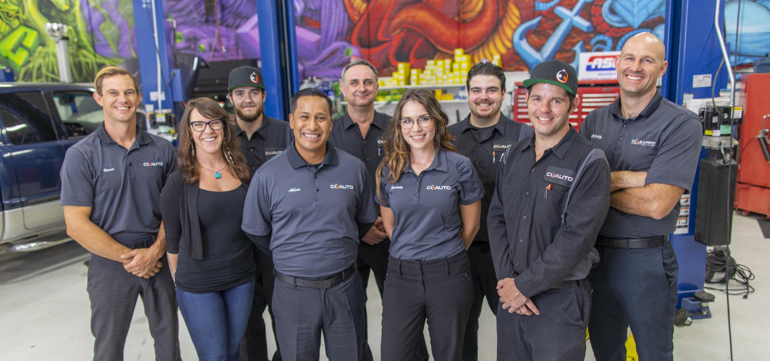 CoAuto's team of professionals