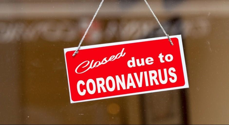 Closed Due To Coronavirus Picture Id1210927286