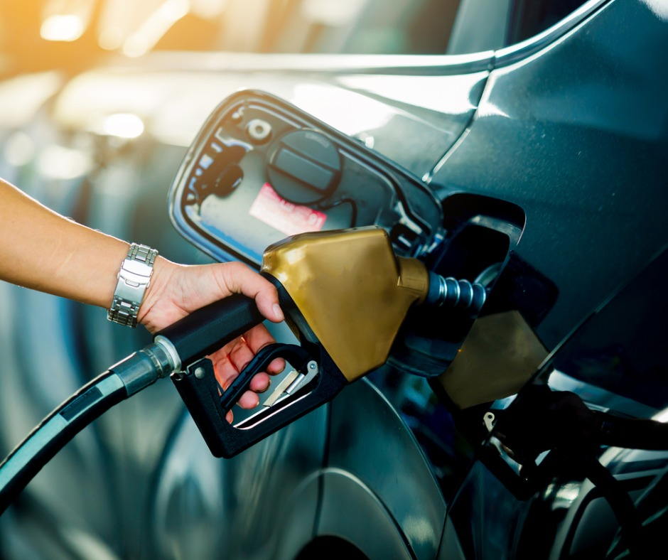 Hand Refilling The Car With Fuel At The Refuel Station Picture Id1136053255