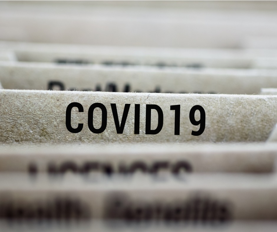 Folder Of Coronavirus Covid19 2019 Ncov Outbreak Picture Id1210719876