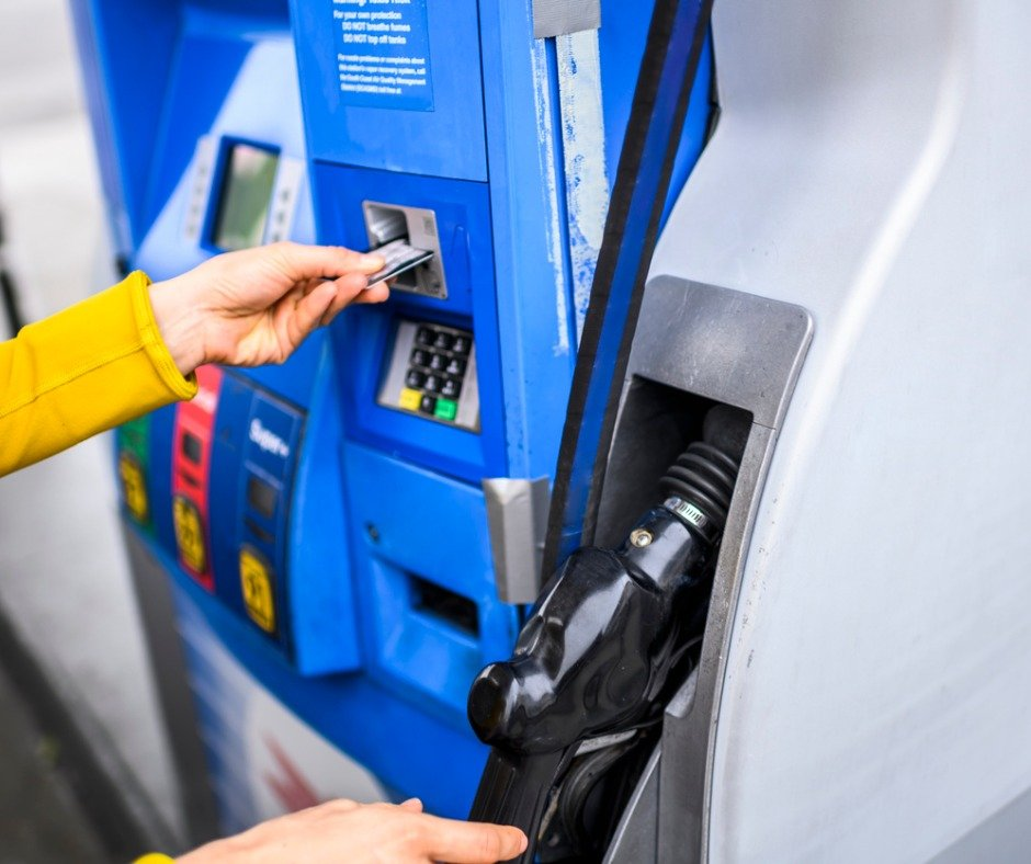 Paying For Fuel Using A Credit Card At A Gas Station Picture Id1199729367