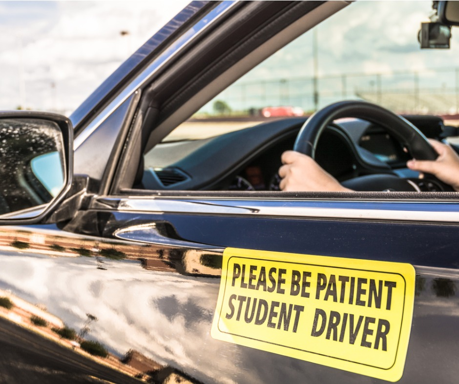 Student Driver Horizontal Picture Id802236882
