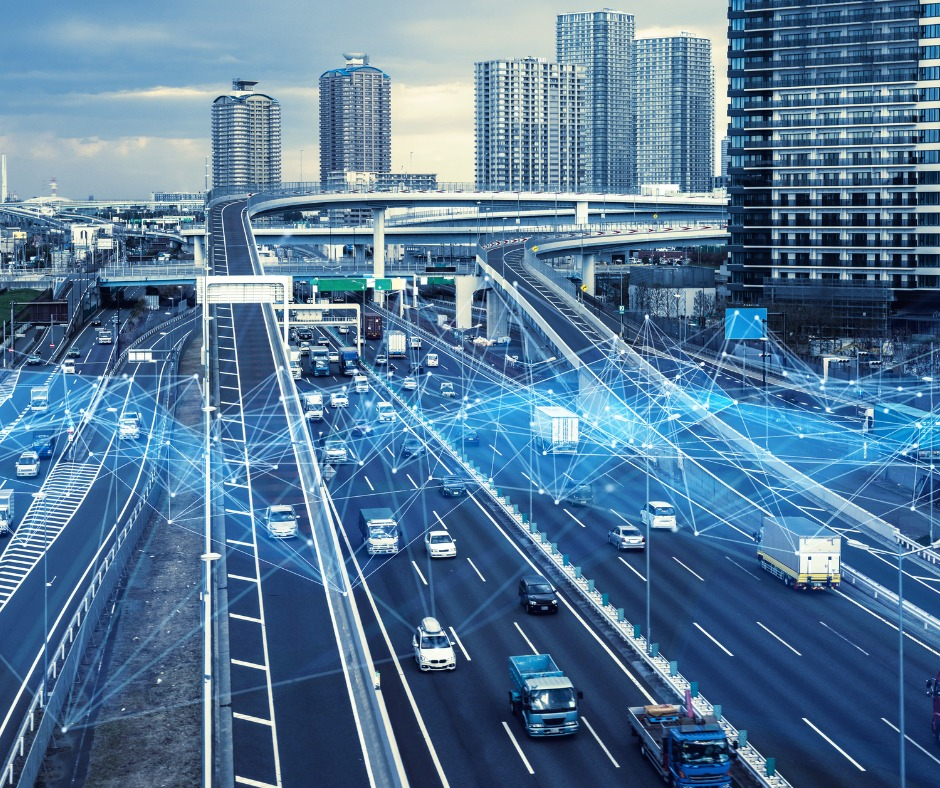 Technology Of Transportation Concept Traffic Control Systems Internet Picture Id1140961203