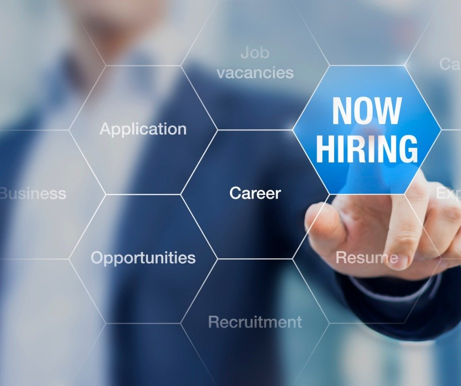 Recruiter Advertising For Job Vacancies Searching Candidates To Hire Picture Id506351726