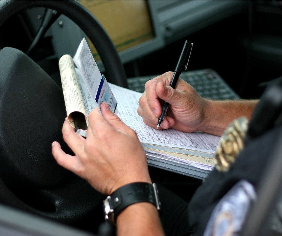 Police Officer Writing Ticket 2 Picture Id157284610