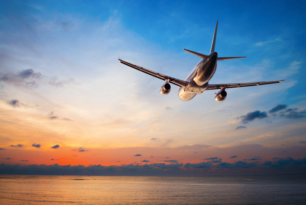 Plane Taking Off Twilight 1024x684
