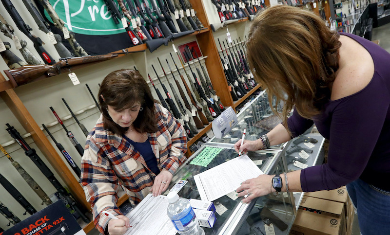 Virus Outbreak Gun Sales Pennsylvania