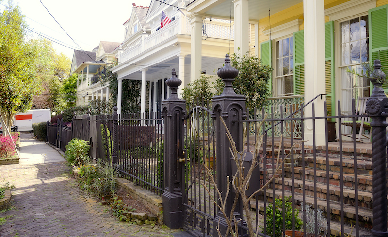 Homes, New Orleans, Louisiana.