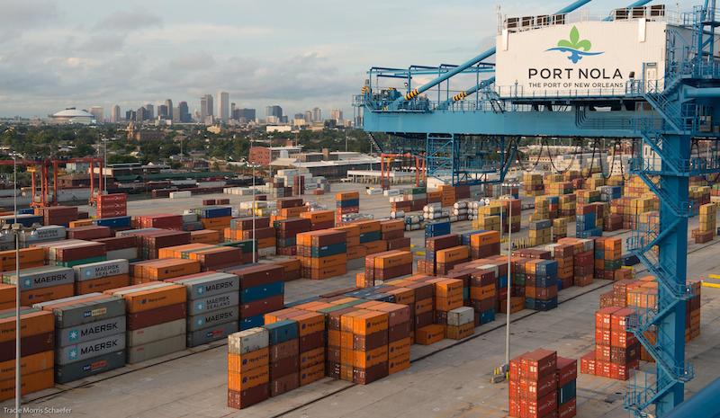 Cranes, Labor, Port Ad