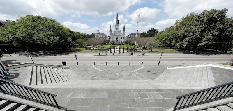 Virus Outbreak Louisiana