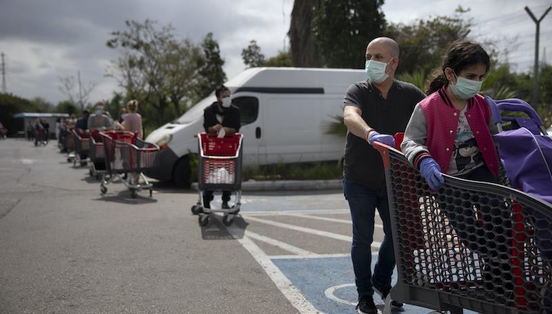 Virus Outbreak Mideast Israel