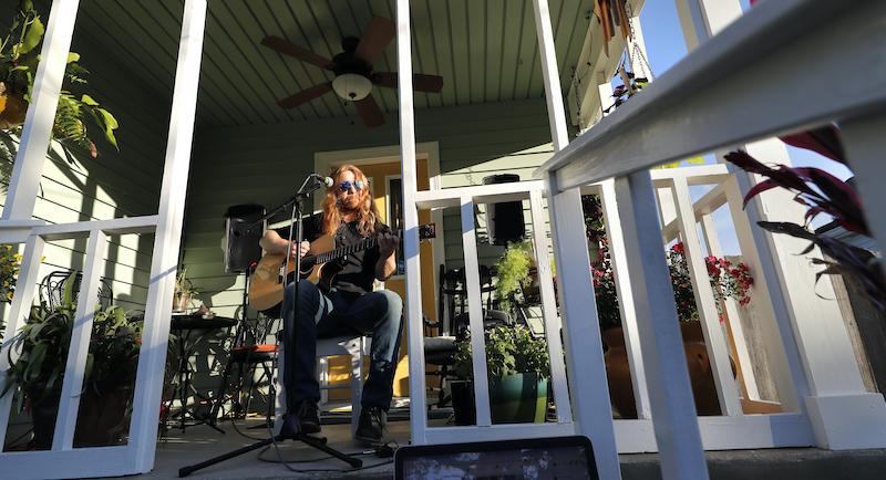 Virus Outbreak New Orleans Music