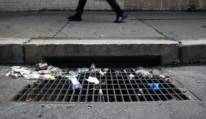 Virus Outbreak Clogged Sewers