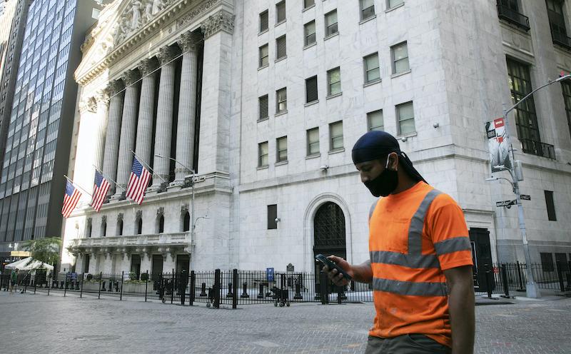 Financial Market Wall Street