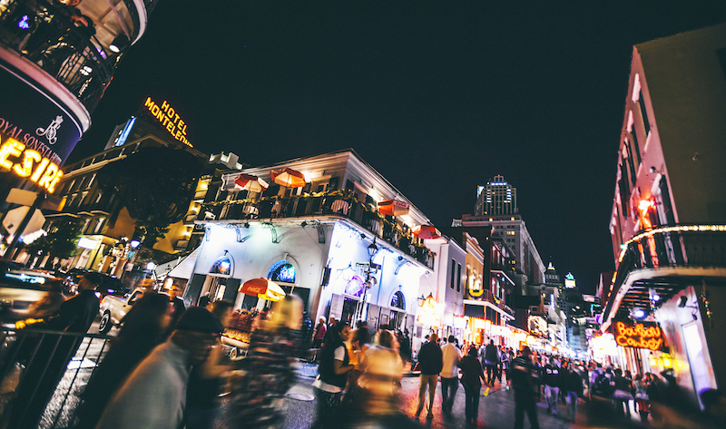 New Orleans By Night.