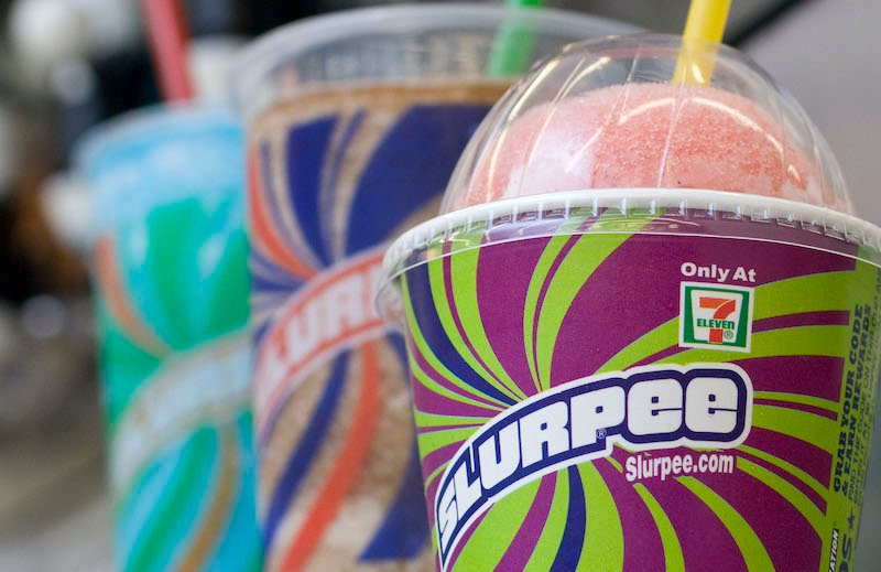 Food Slurpees Moment