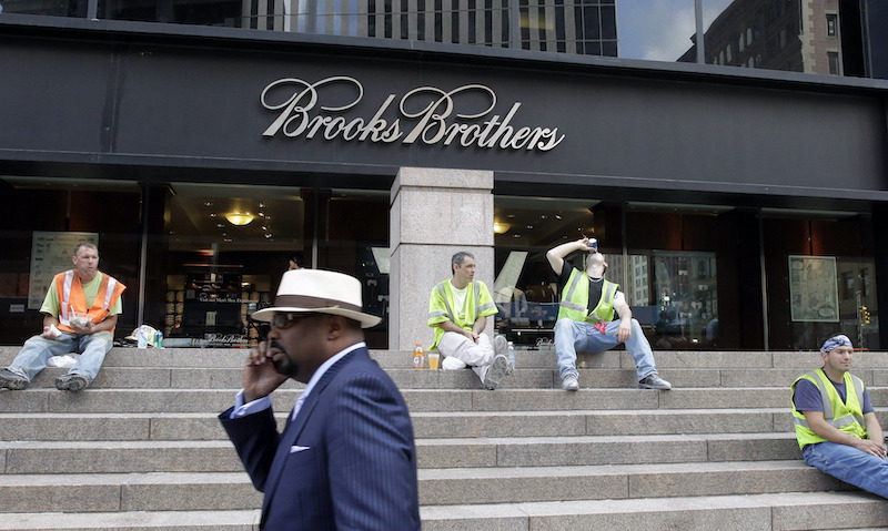 Correction Brooks Brothers Bankruptcy
