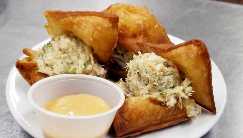 Loretta's Crabmeat Beignets