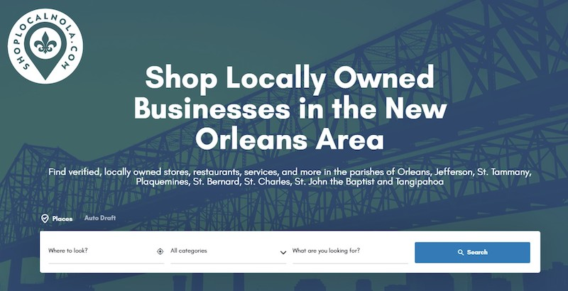 Shop Local Nola