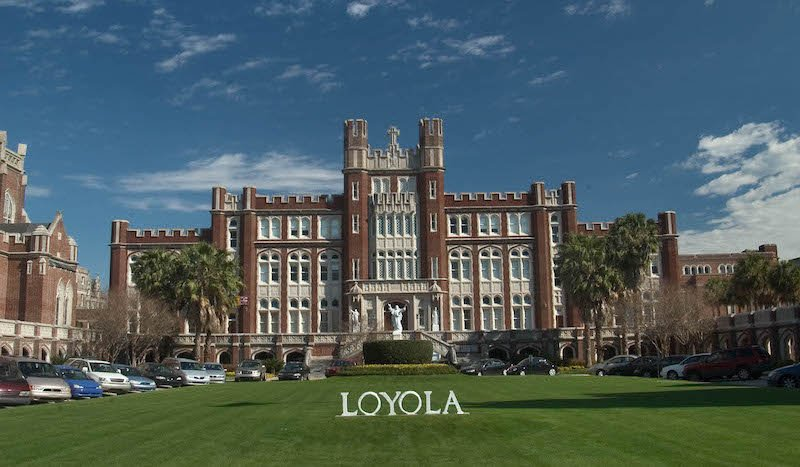 New Orleans Aquarium Loyola University Marquette Hall From