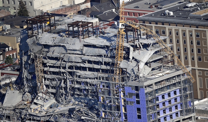 Crane Demolition
