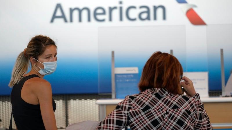 Virus Outbreak Airlines Face Masks