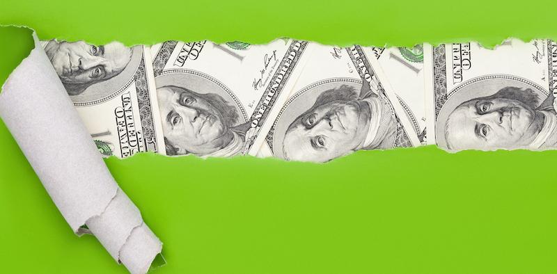 Us Dollar Cash Find