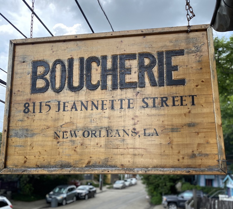 Boucherie Sign 1