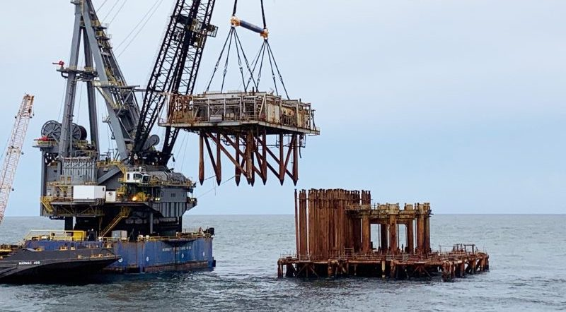 Lena Exxon Rigs To Reefs