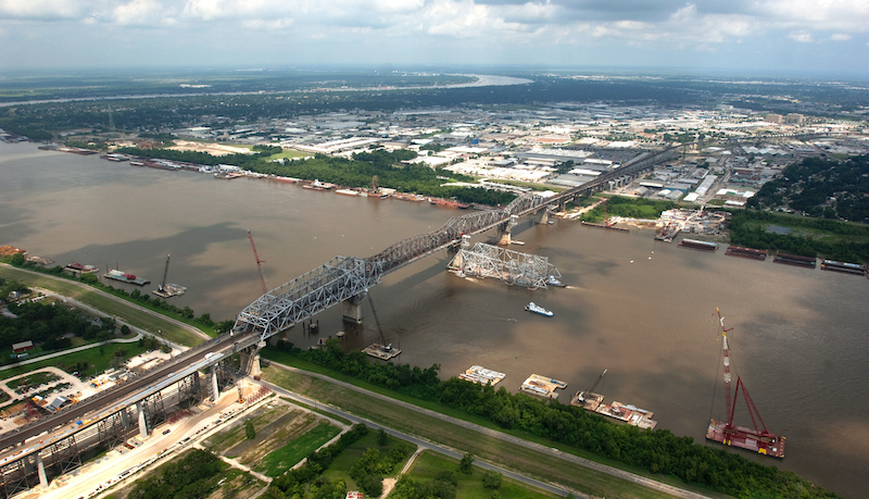Us 90 Bridge, Huey P Long New Orleans