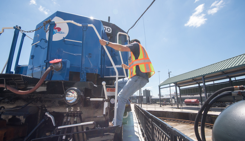 Releases From Nopb, Blue Locomotive, Rebranding High Rail Operations