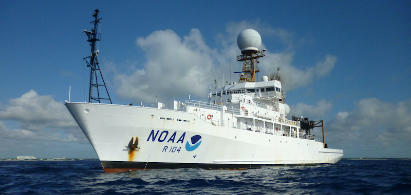 Photo Noaa Ship Ronald H Brown Wes Struble 102318 3920x1869 Landscape