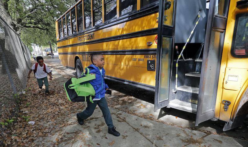 Virus Outbreak Louisiana Schools