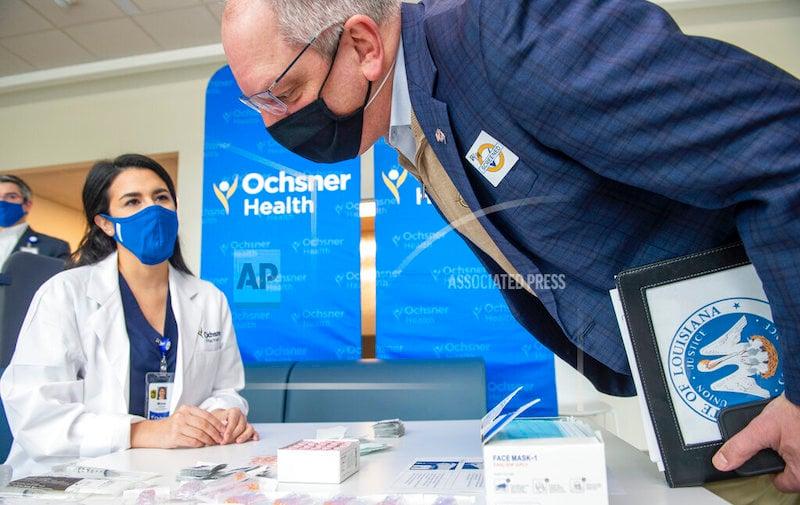 Virus Outbreak Vaccine New Orleans
