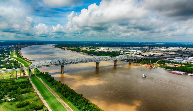 Bridge Over The Southern Mississippi
