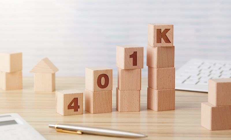 401k Wooden Blocks Chart