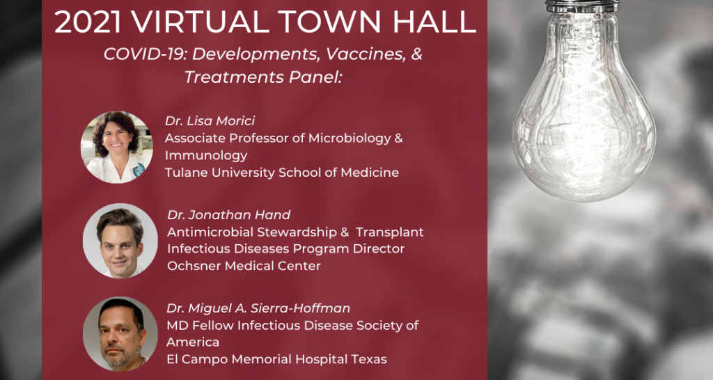 Town Hall Panel Graphic