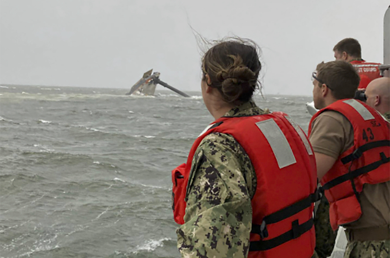 Us Overturned Boat Rescue