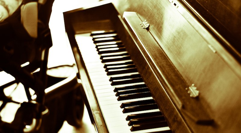 An Ancient Piano, An Antique Piece