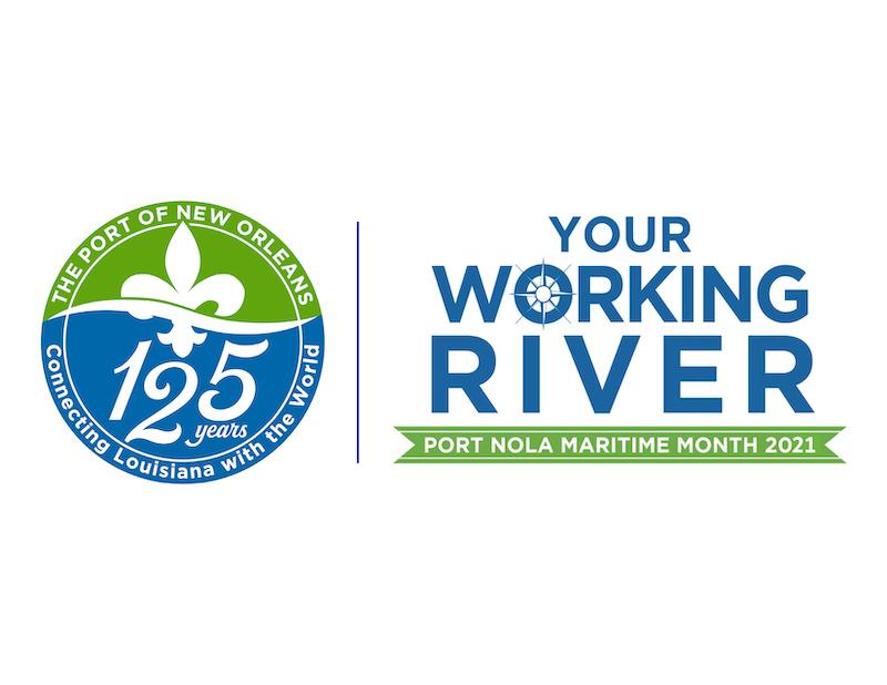 Port Nola Maritime Month 2021 Logo