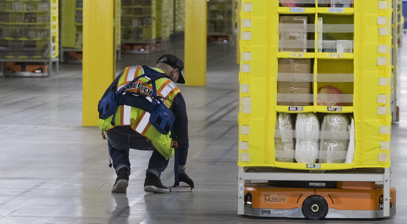 Warehouse Robots Safety